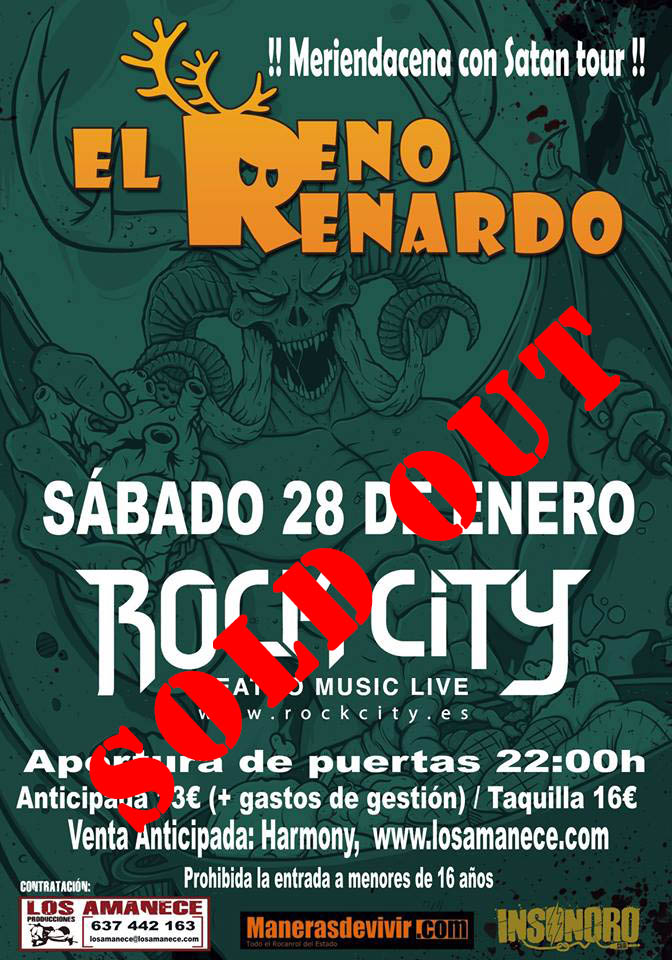 El Reno Renardo Sold Out