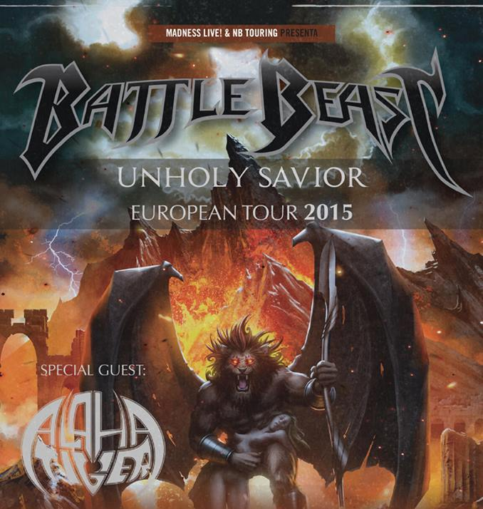 Battle Beast Cabecera