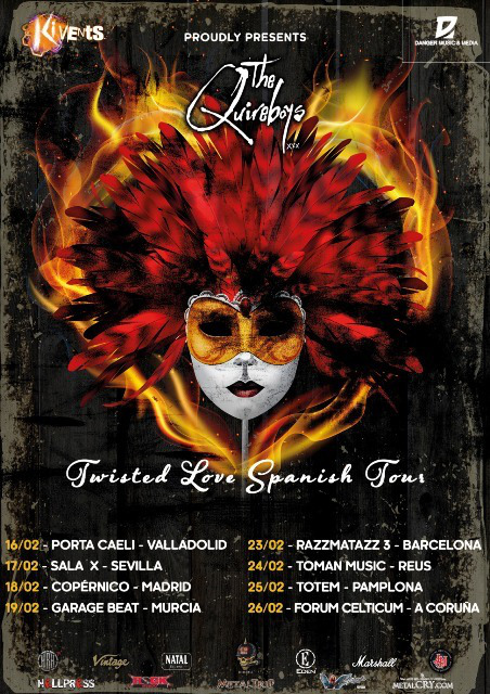 the quireboys twisted love spanish tour 2017 a