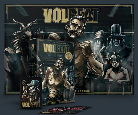 Volbeat2016 Seal The Deal Lets Boogie Special Pack