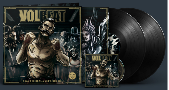 Volbeat2016 Seal The Deal Lets Boogie Vinyl Pack