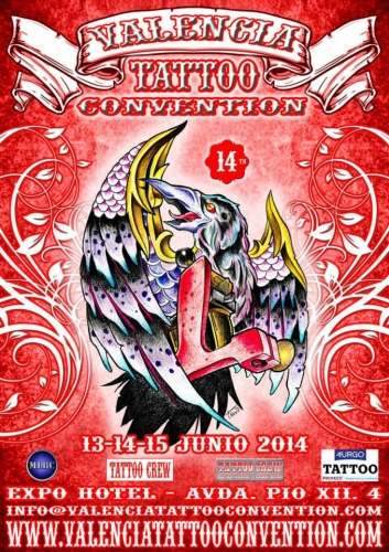 14ª VALENCIA TATTOO CONVENTION - 13-14-15 JUNIO 2014