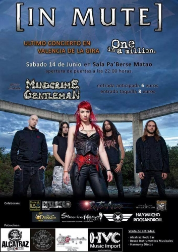 [IN MUTE] + MINDCRIME GENTLEMAN