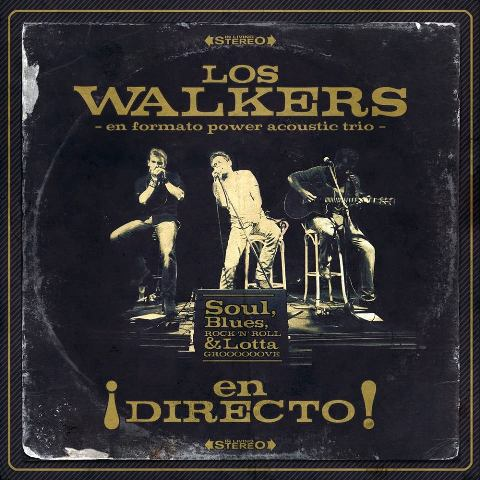 LOS WALKERS {power trio mode} on fire at PETER ROCK !!!!