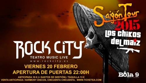 Los Chikos Del Maiz @ Rock City